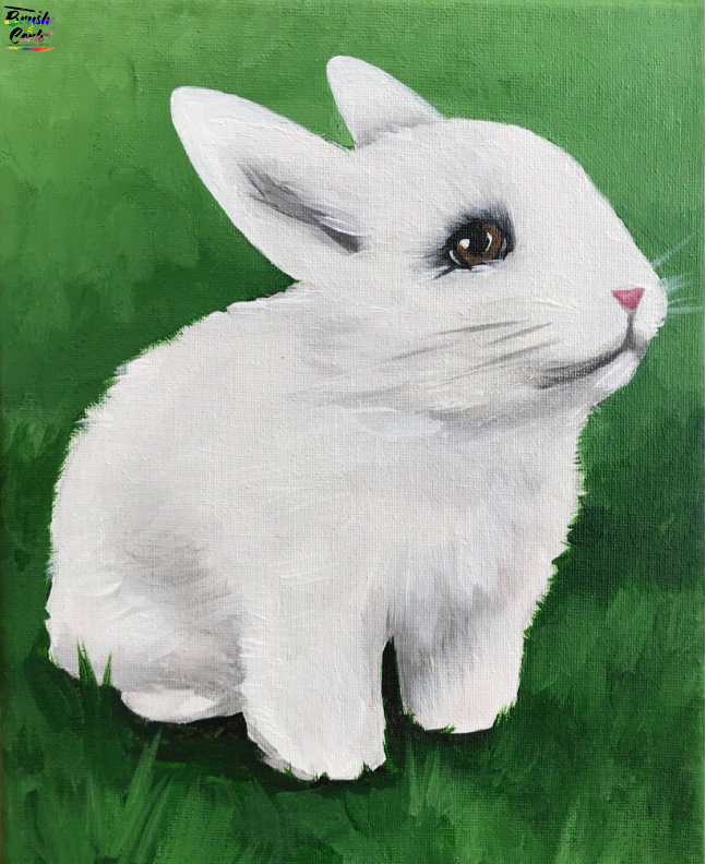 Kids & Grown-Ups Bunny Paint Party